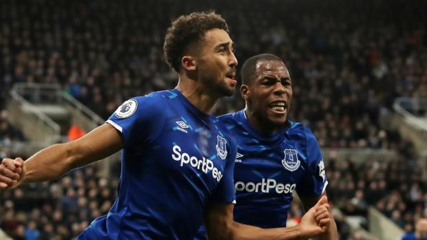Newcastle 1-2 Everton: Dominic Calvert-Lewin double sees off Magpies