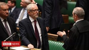 Jeremy Corbyn urges Labour to lead 'resistance' to Conservatives in 2020