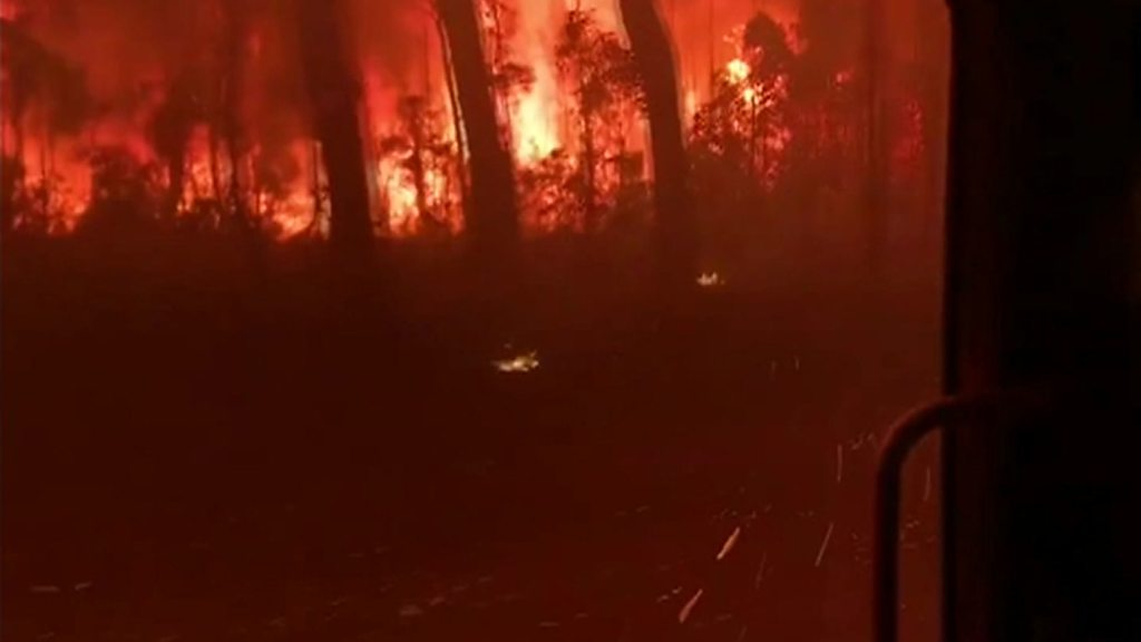 Australia fires: Military to be deployed to help rescue effort