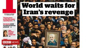 The Papers: 'World waits for Iran's revenge'