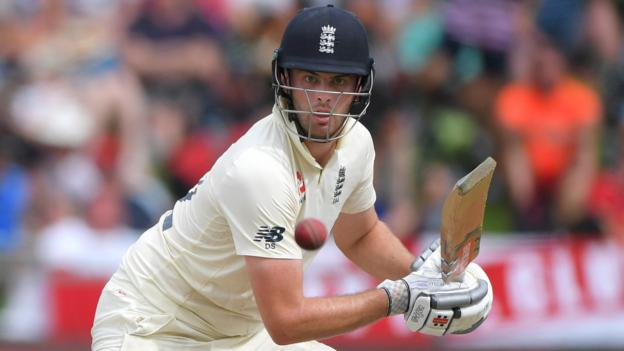 England in South Africa: Dom Sibley's 85 not out puts tourists in control